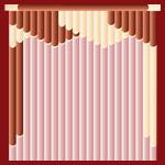 модель вертикальных мультифактурных жалюзи