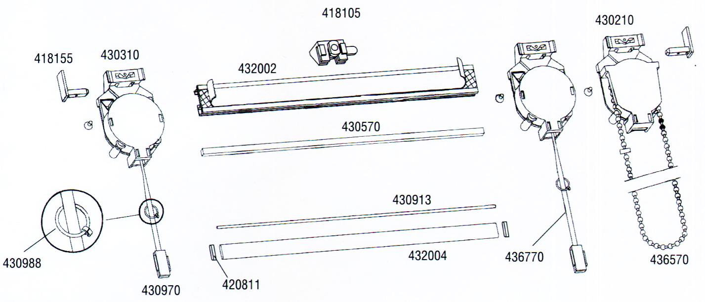 Подъемный механизм для штор своими руками 47
