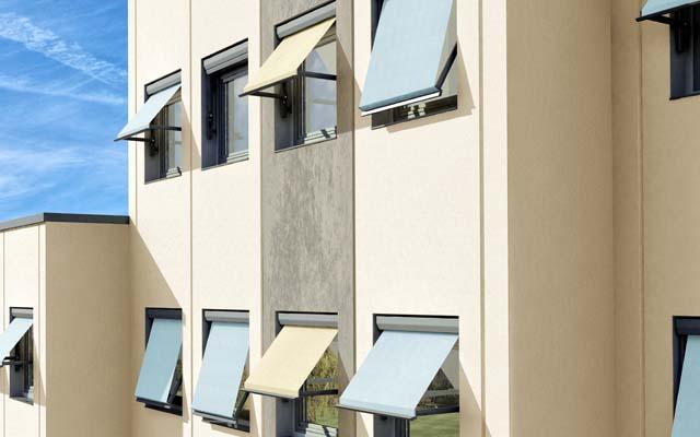 Фасадные маркизы Stobag, Metro-Box.